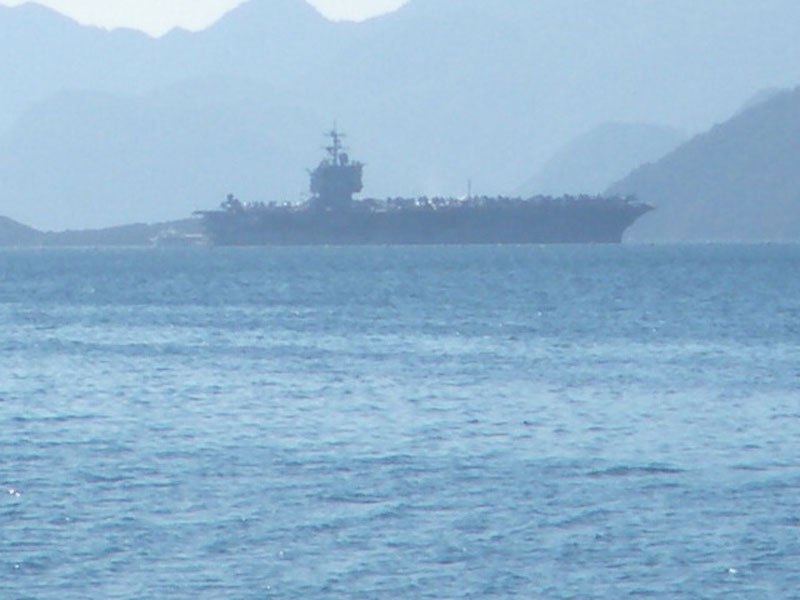 USS Enterprise visits Marmaris