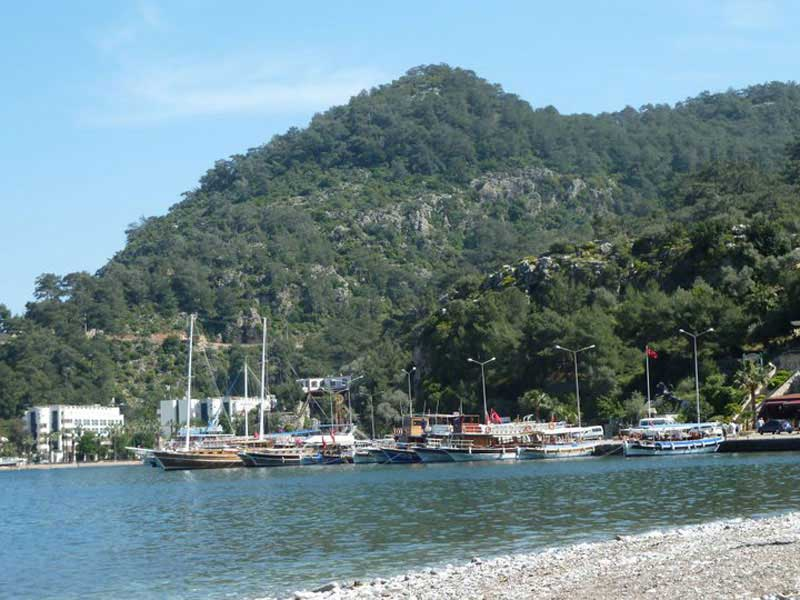 Turunç Harbour - busy again for the new season