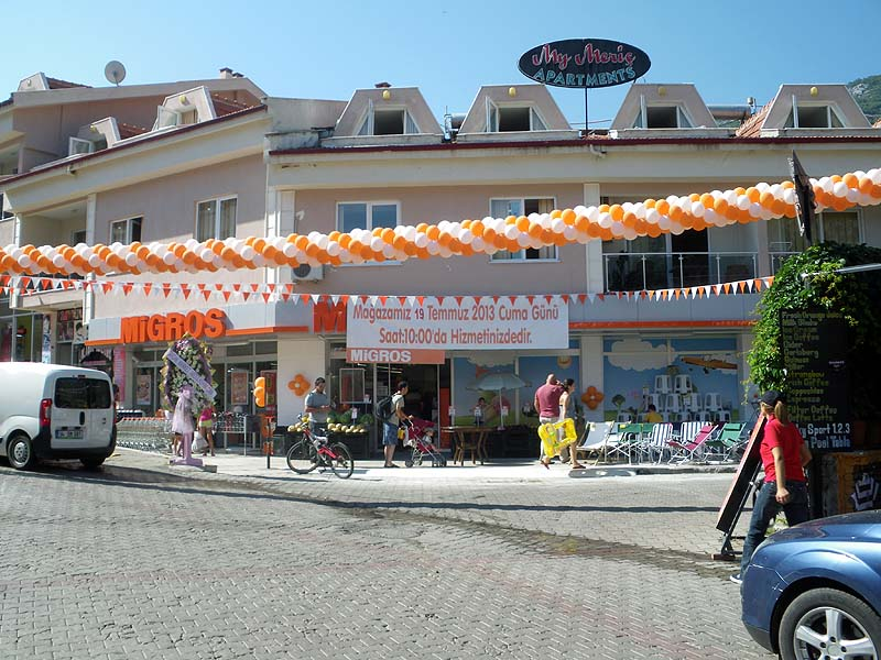 It finally happened! Migros comes to Turunç