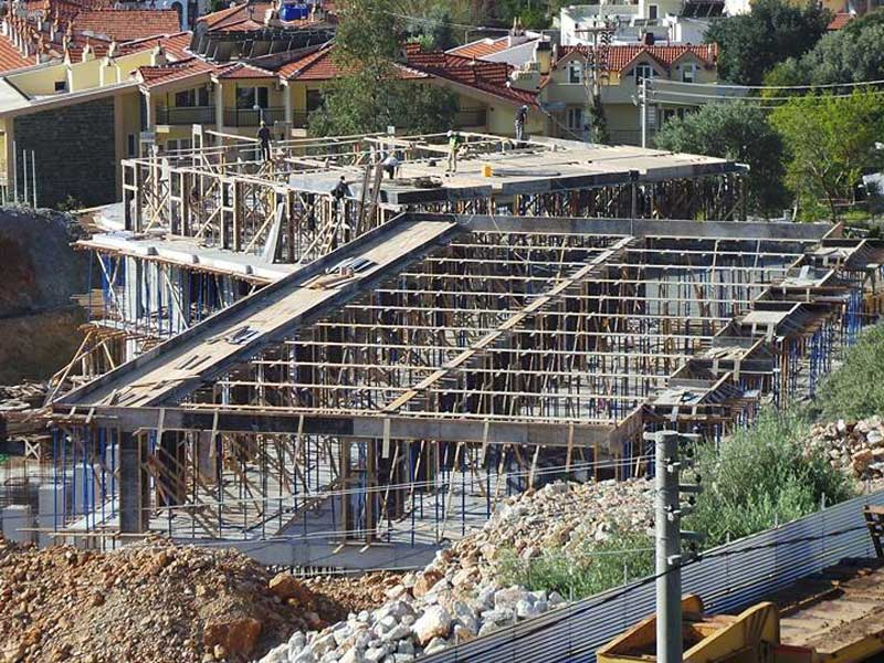 Work continues on the new Turunç hotel