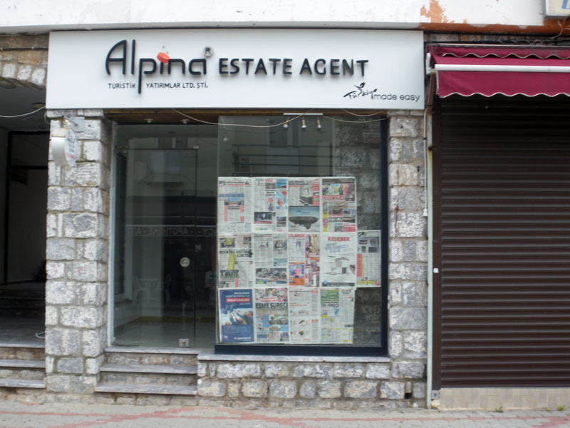 Alpina Real Estate has left the village ...