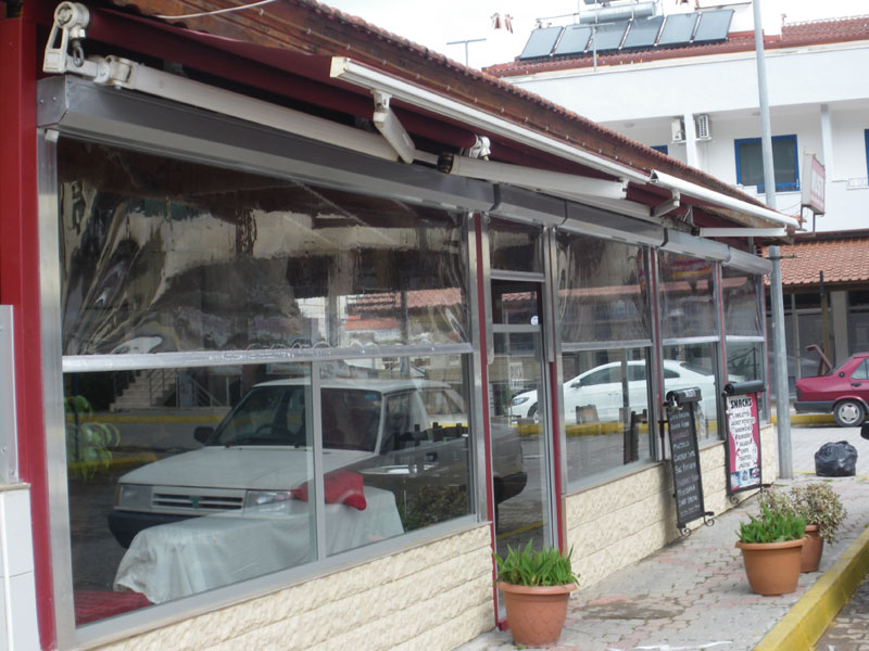 Musti Restaurant with new fittings as required by Muğla regional council