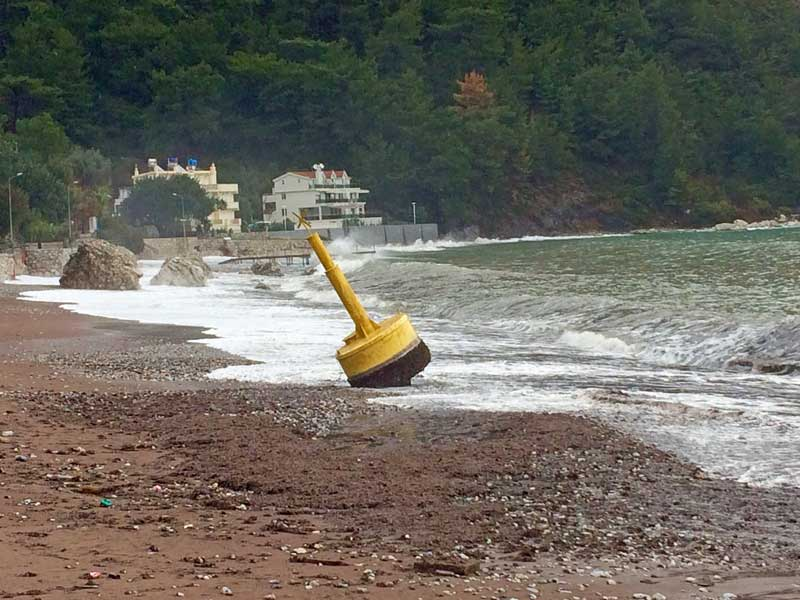 Oh buoy - washed up in a storm