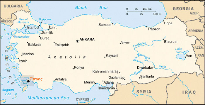Turkey Map Tourist Destinations – Tourist Attractions Map In Turkey