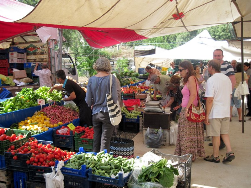 Turunç Market - the freshest fruits and vegetables you will ever have tasted