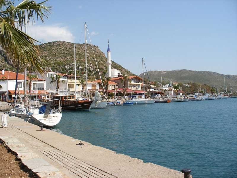 Beautiful Bozburun Harbour