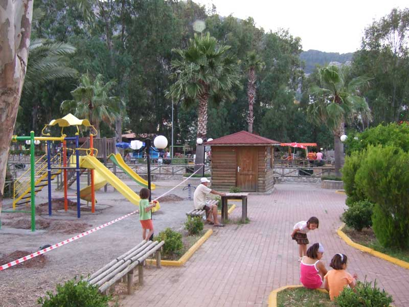 Turunç Village - children's playground